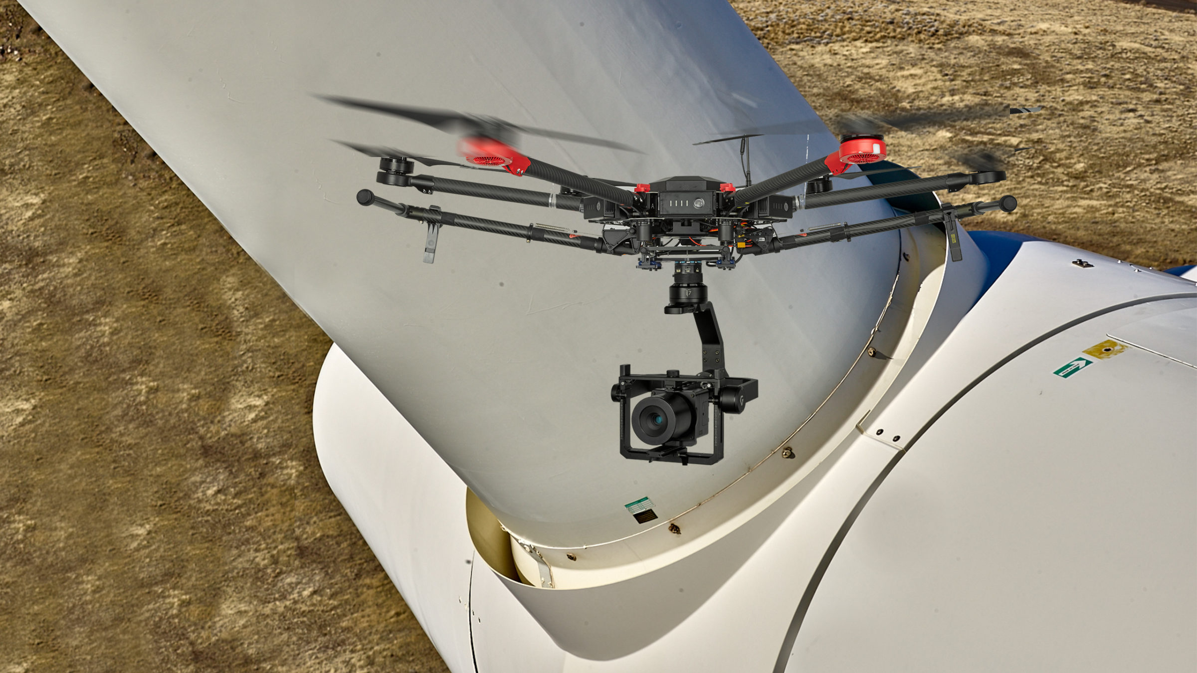 M600 Payload - Phase One pipeline inspection drone