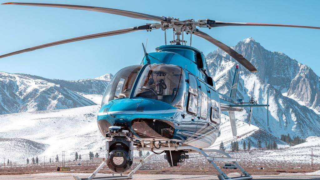 Aerial Imagery System onboard Helicopter